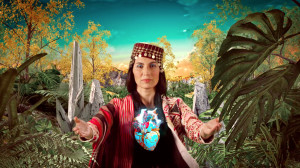 "Maya Jupiter in ""Madre Tierra"" video"